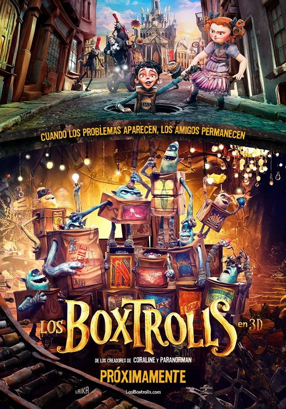 Crítica de la película 'Los Boxtrolls (The Boxtrolls)'