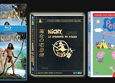 Estrenos de eOne Films Spain en DVD y BD
