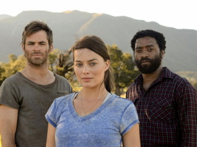 Chris Pine, Margot Robbie y Chiwetel Ejiofor en 'Z for Zachariah'