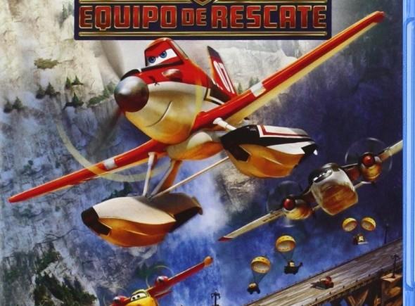 Edición BD de 'Aviones equipo de rescate'