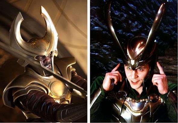 Heimdall (Idris Elba) y Loki (Tom Hiddleston) estarán en 'Los vengadores: la era de Ultrón'