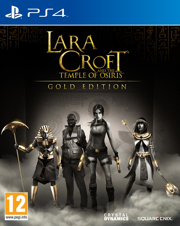 Portada del videojuego Lara Croft and the temple of Osiris