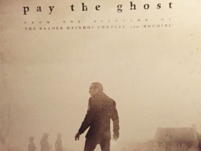 Póster de Pay The Ghost, con Nicolas Cage