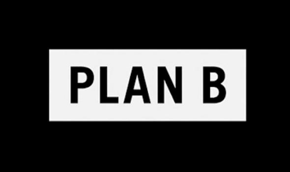 Logo de Plan B, la productora de Brad Pitt
