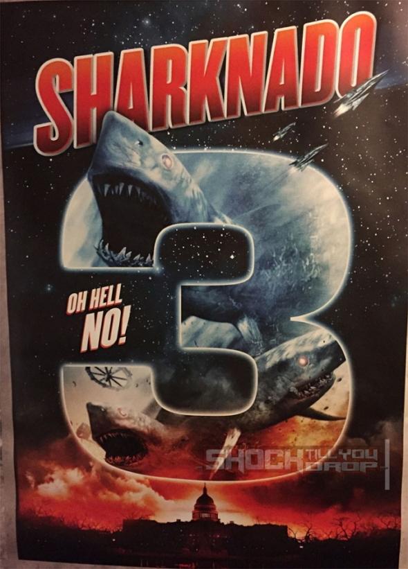 Póster de Sharknado 3
