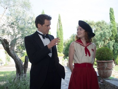 Colin Firth y Emma Stone protagonizan lo último de Woody Allen