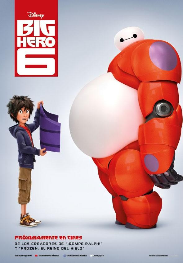 Cartel Big Hero 6