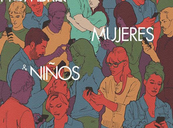Hombres, mujeres y niños. Poster.