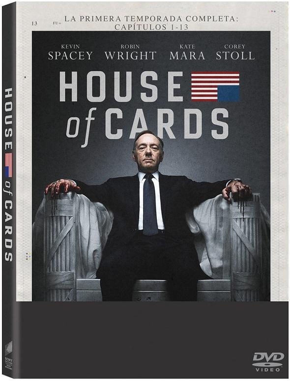 Primera temporada en DVD de 'House of Cards'