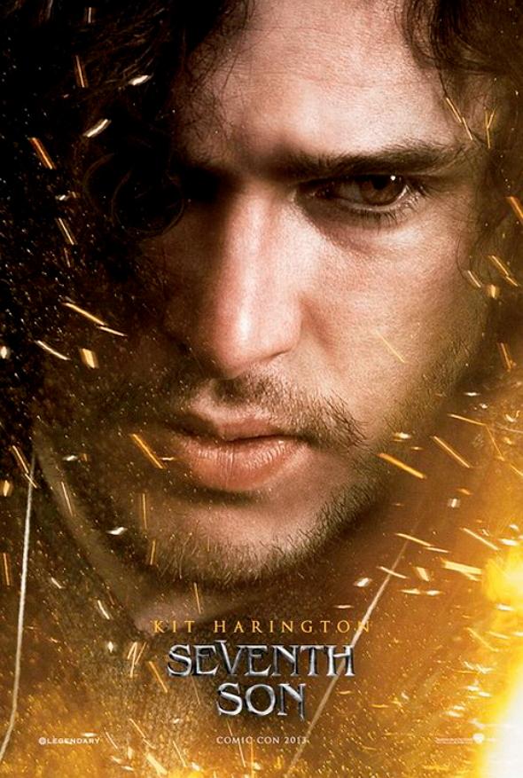 Póster de la película El séptimo hijo (Seventh Son), protagonizado por Kit Harington