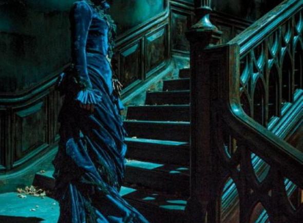Jessica Chastain protagoniza la primera imagen oficial de 'Crimson Peak'