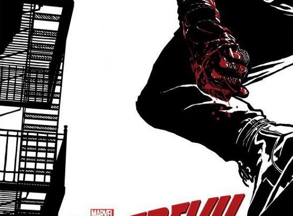 Póster de la serie Daredevil, por Joe Quesada