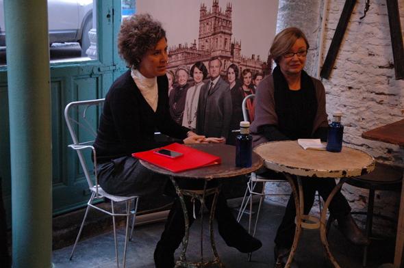 María Ortega Cornejo y Diana Fernández