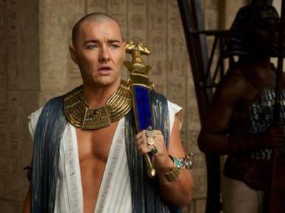 Joel Edgerton como Ramsés en 'Exodus: Dioses y Reyes'