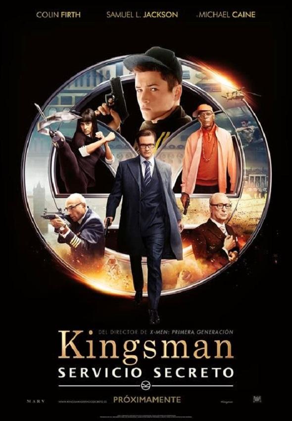 Kingsman servicio secreto. Póster en español