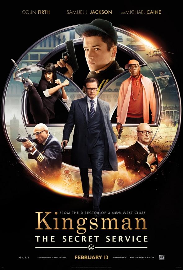 Póster de Kingsman: Servicio secreto (Kingsman: The secret service)