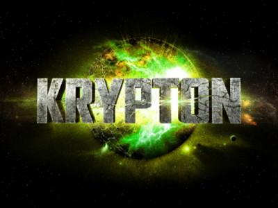 Logo promocional de la serie Krypton