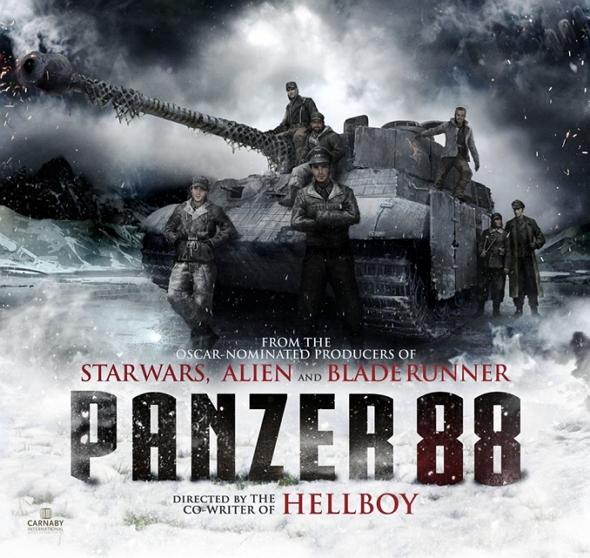 Otro póster de la película Panzer 88