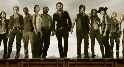 El reparto de la quinta temporada de 'The Walking Dead'