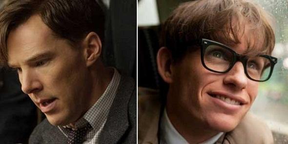 Benedict Cumberbatch y Eddie Redmayne, favoritos para mejor actor dramático