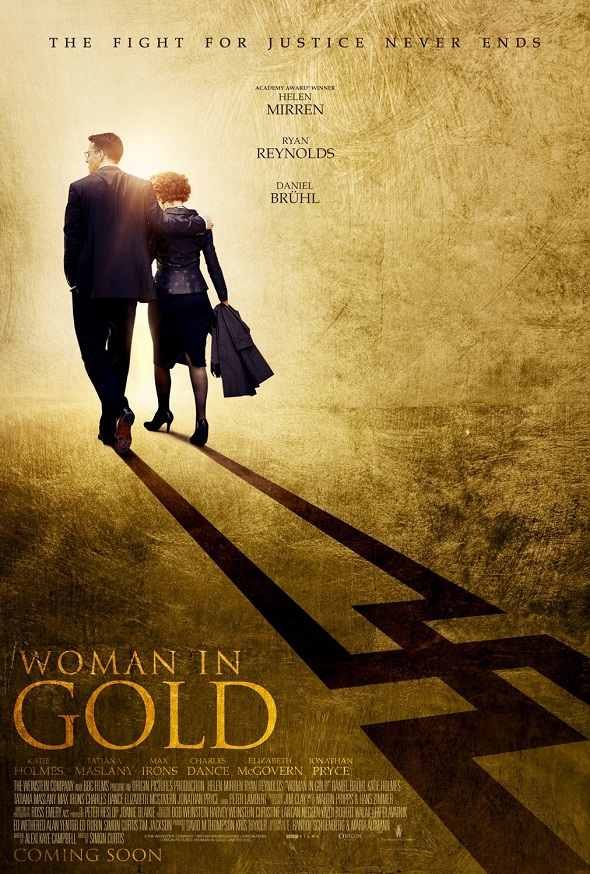 Póster de 'Woman in gold'
