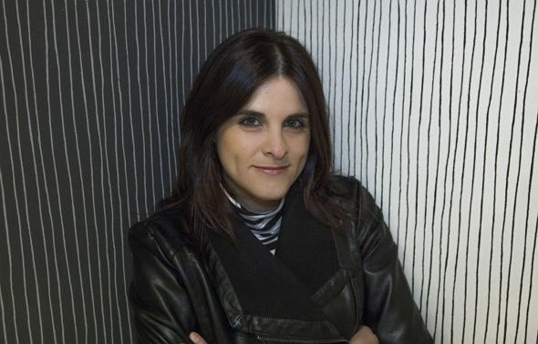 Una fotografía de la Guionista, Actriz, Directora y Productora Alicia M. Gaspar