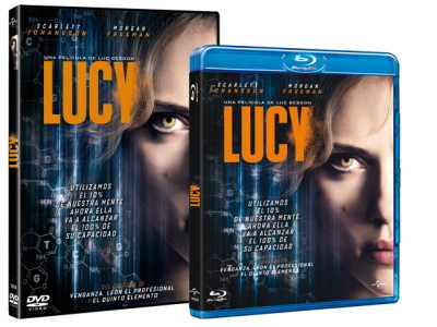 Lucy, desde el 30 de enero en DVD y Blu-ray