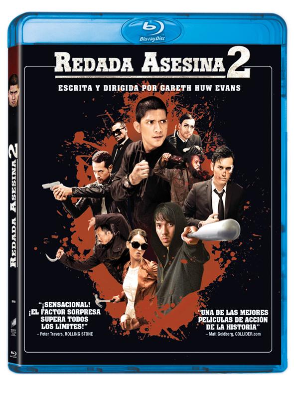 Carátula Bluray de 'Redada Asesina 2'