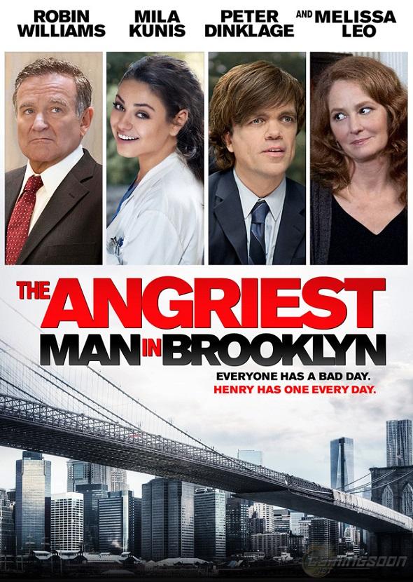Póster de El hombre más enfadado de Brooklyn