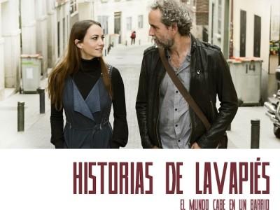 Póster de la comedia dramática 'Historias de Lavapiés' de Ramón Luque