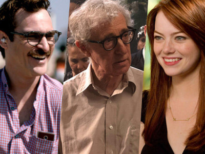 Joaquin Phoenix, Woody Allen y Emma Stone