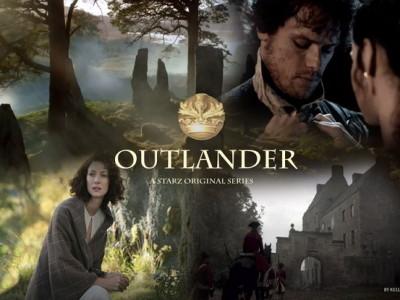 Una imagen promocional de la serie 'Outlander'