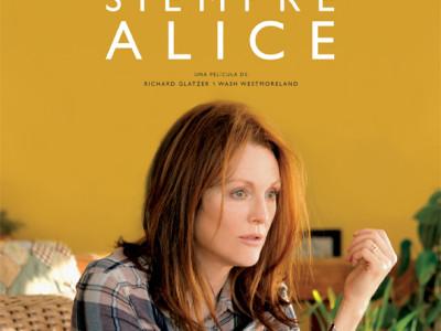 Póster en español de Siempre Alice