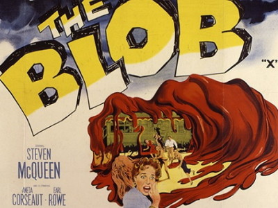Póster del clásico 'The Blob'
