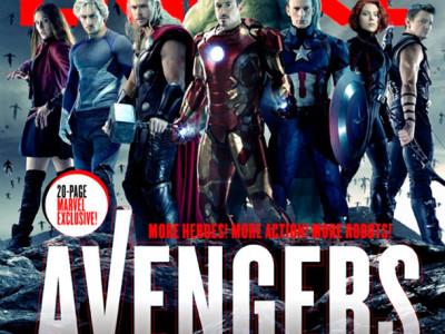 Los Vengadores, reunidos en la portada de Empire