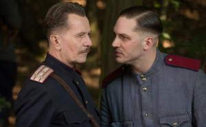 Gary Oldman y Tom Hardy en 'Child 44'