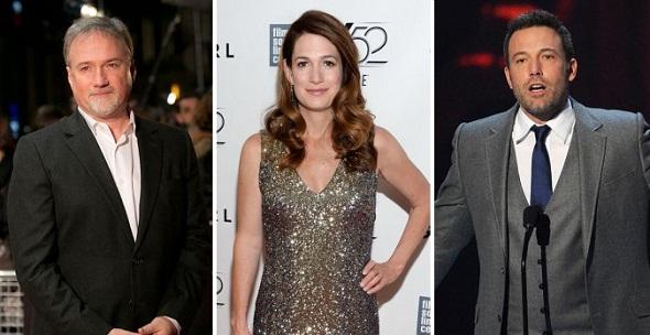 David Fincher, Gillian Flynn y Ben Affleck, embarcados en el remake de 'Extraños en un tren'