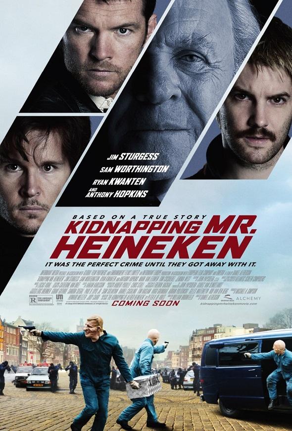Otro de los carteles de 'Kidnapping Mr. Heineken'