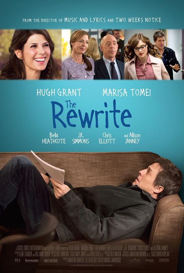 Póster de 'The rewrite'