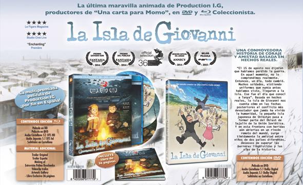 Carátulas de 'La Isla de Giovanni'