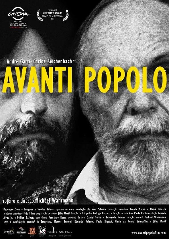 Avanti Popolo. Póster de la película