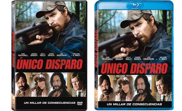 'Unico Disparo' en Bluray y DVD