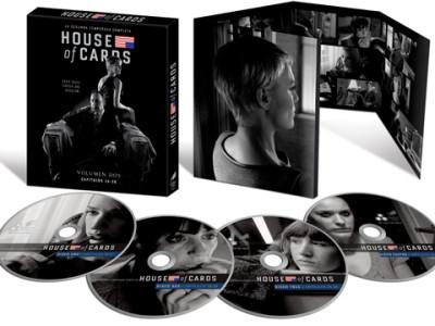 'House of Cards' Pack en DVD