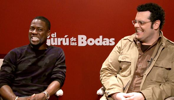 'El Gurú de las Bodas' Entrevista con Josh Gad y Kevin Hart