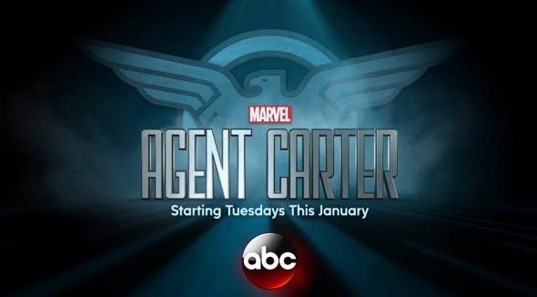 Logotipo de la serie Agente Carter, de Marvel