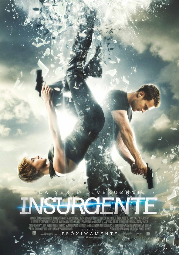 Póster final en español de La serie Divergente: Insurgente