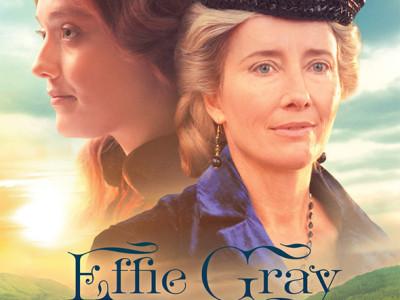 Imagen del nuevo póster de la película Effie Gray