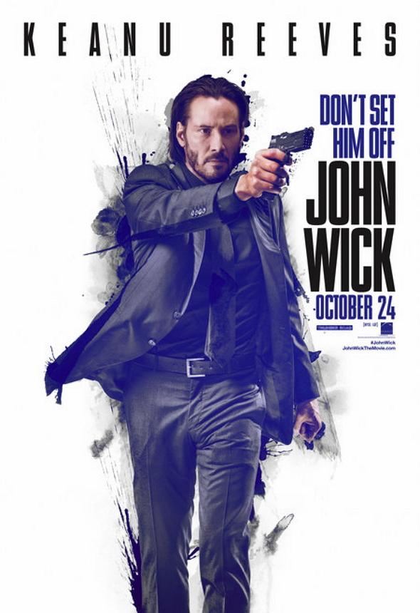 Una imagen del Póster de la película 'John Wick'