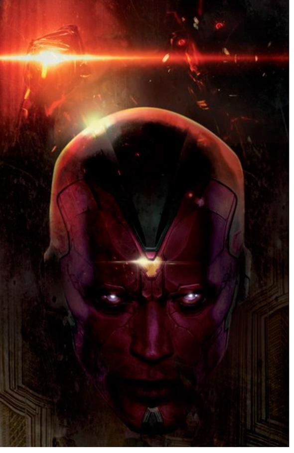 La Visión en 'Vengadores: la era de Ultrón (Avengers: Age of Ultron)'