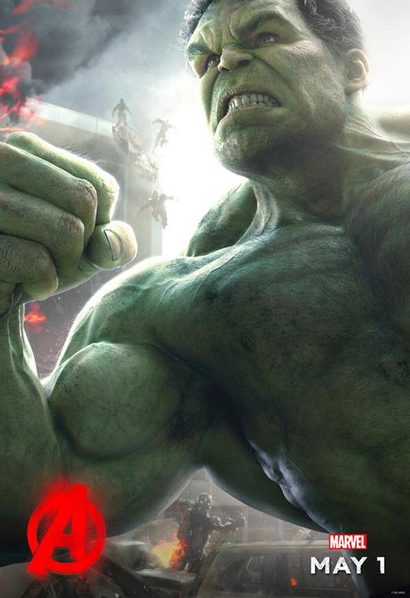Imagen del Póster de Hulk en Vengadores: la era del Ultrón